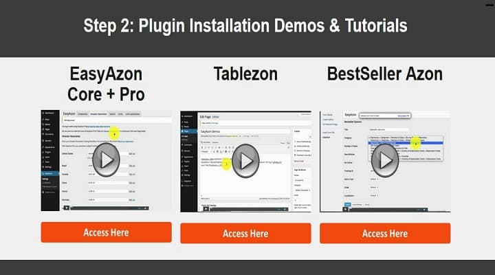 how to install & setup easy azon plugin