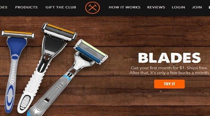 dollar shave club info