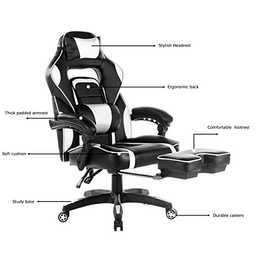 MERAX Racing Computer Gaming Chair