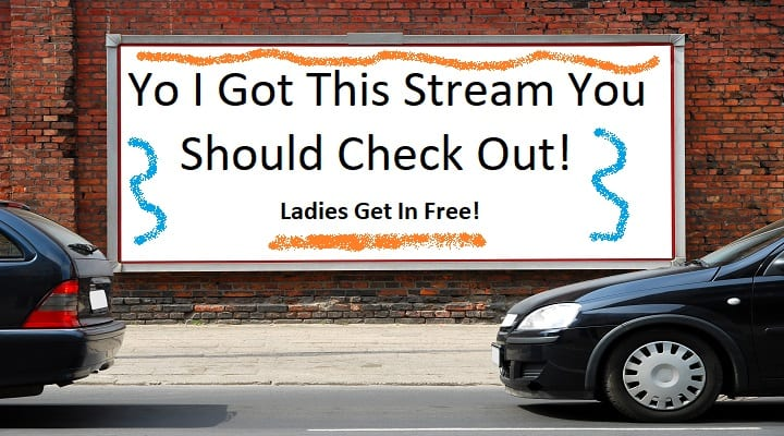 promoting your stream