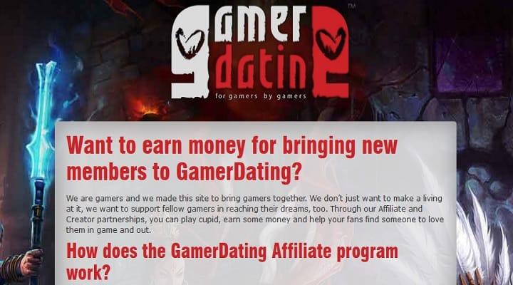 GamerDating Affiliate