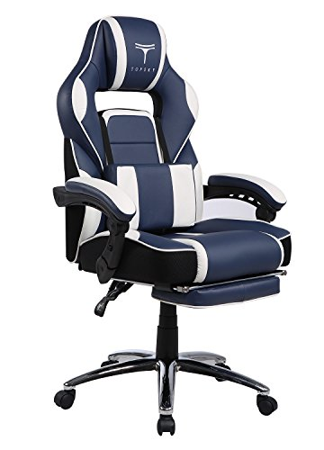 TOPSKY High Back Racing Style PU Leather Gaming Chair