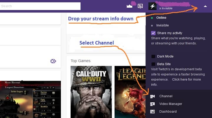 How To Setup A Donations Button On Twitch For Your Stream