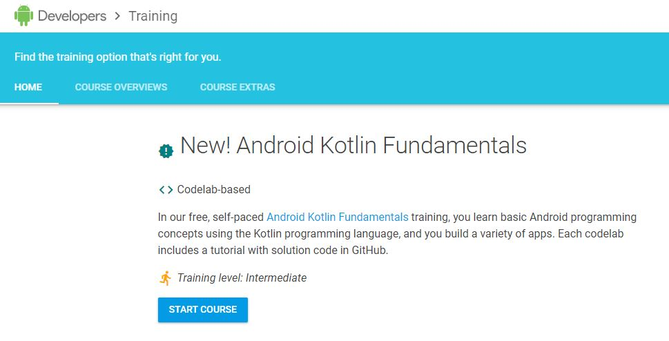 Developers Training