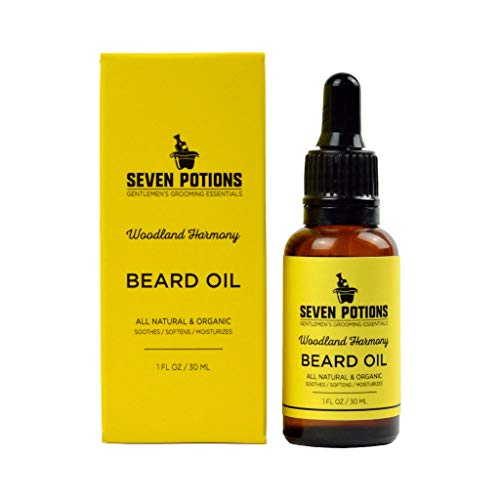 Seven Potions Woodland Harmony Beard Oil Review 2019